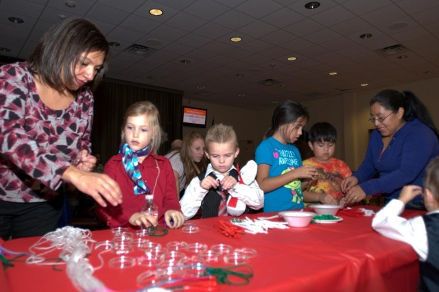Holiday party boasts food, fun and exceptional family members