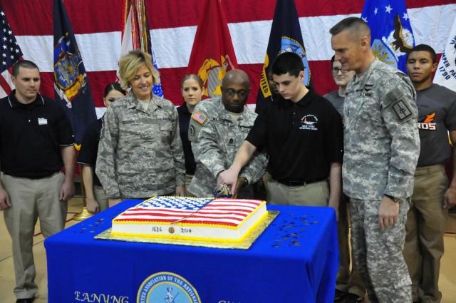 New York National Guard marks 378th Guard birthday