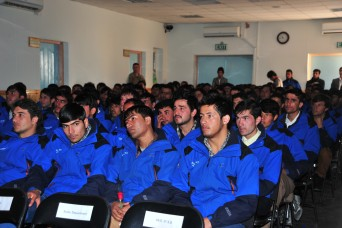 A look at the last graduating class of the Korean Vocational Training Center at Bagram Airfield, Afghanistan