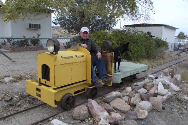 Backyard Railroad Locomotives soldier for life' staying on right track | article | the united