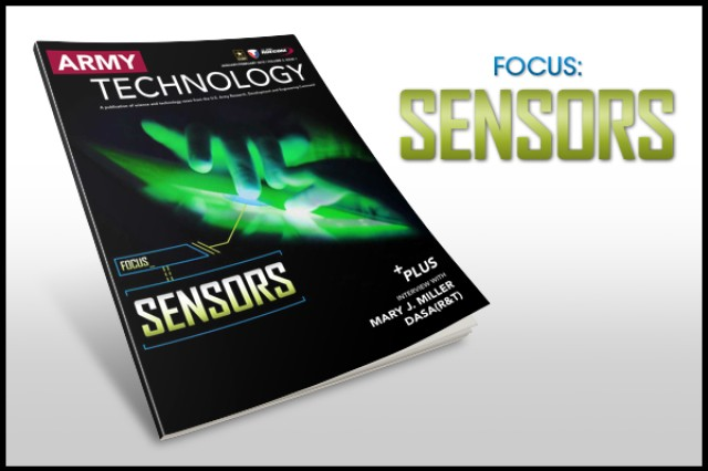 The January/February 2015  Army Technology Magazine discusses sensors research. View or download the issue by following the link in Related Files.