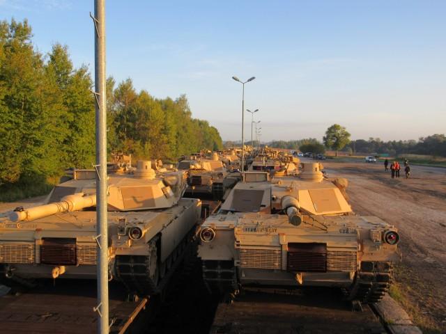 Railhead ops in Poland