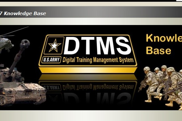Version 7 of the Digital Training Management System makes it easier for commanders to plan exercises and keep track of their Soldiers training records. DTMS can be found on the Army Training Network at https://dtms.army.mil/.