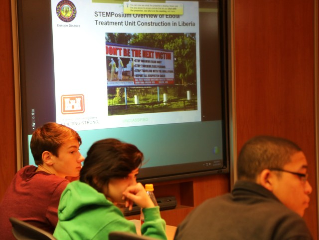 USACE engineers participate in DoDDS--Europe STEMposium