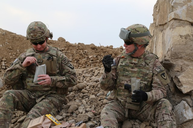 Research team shapes future of combat rations