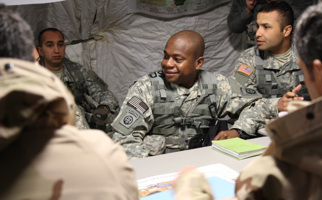 3rd BCT Paratroopers train for coming Iraq advise, assist mission