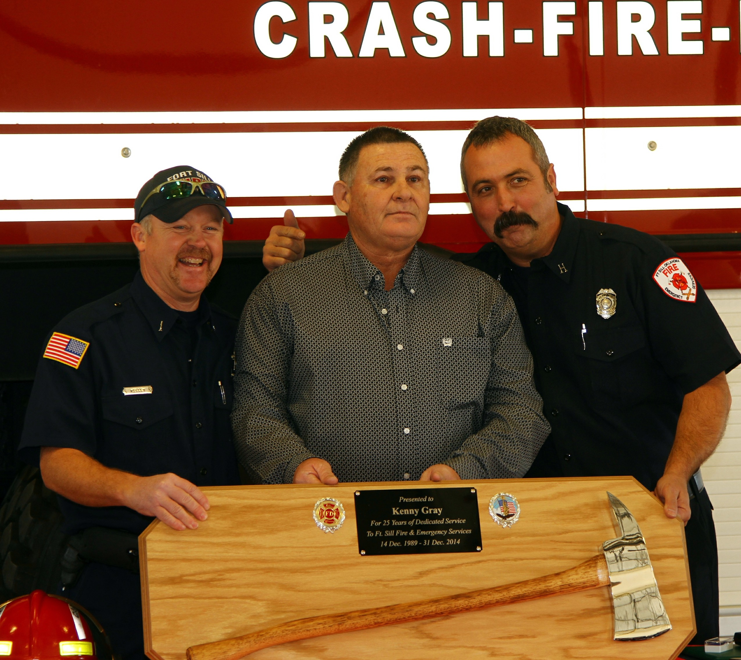 Fort Sill fire captain retires after decades of service   Article