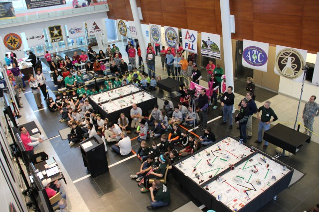 Team APG partners with local STEM community to host 2014 FIRST Lego League