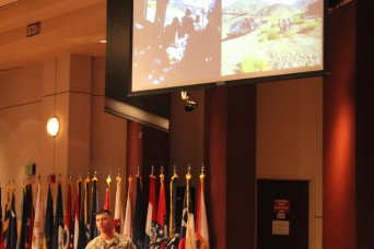 Future civilian leaders hear from decorated war fighter ...