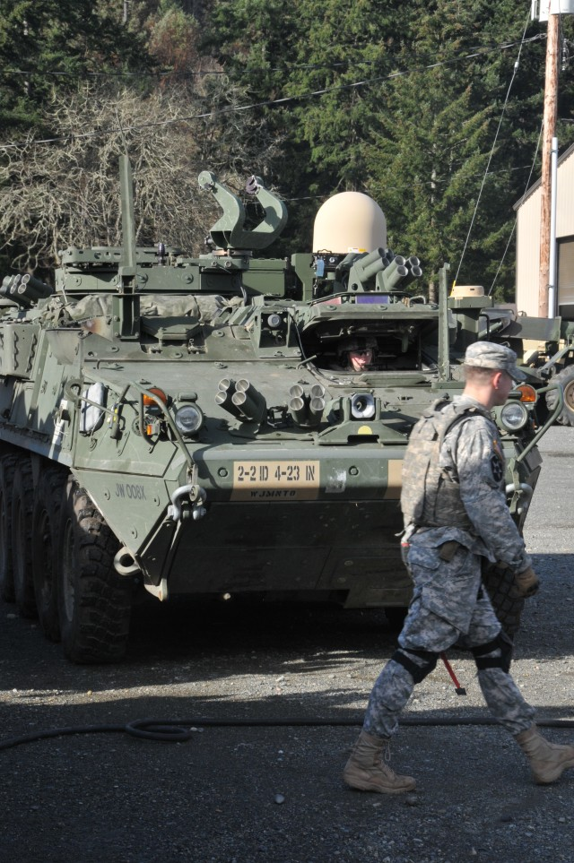 Army equips Stryker unit with new communications technology