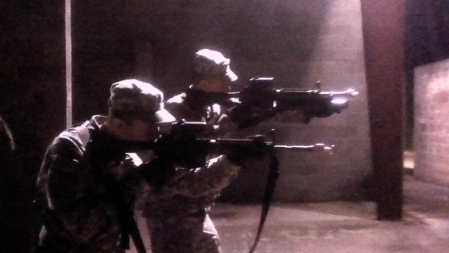 Operation Kick-Punch provides engineer Soldiers Ranger coaching