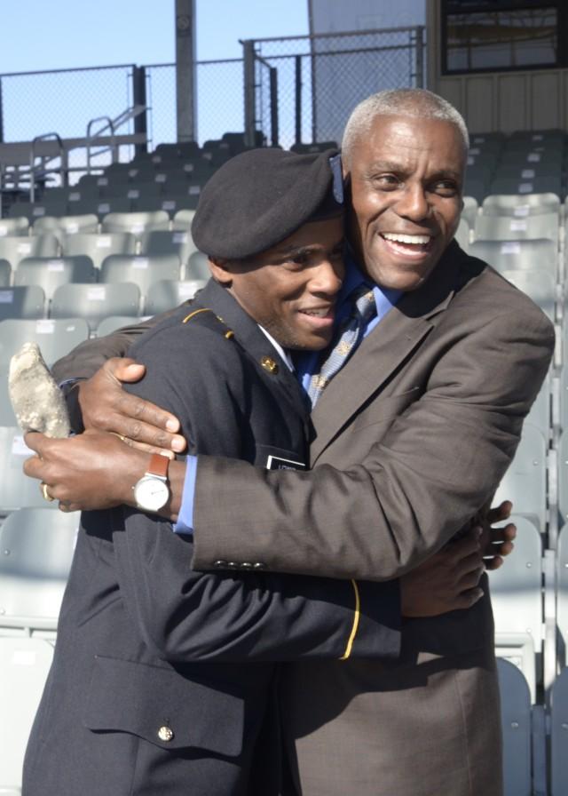Track star's son graduates from Basic Combat Training