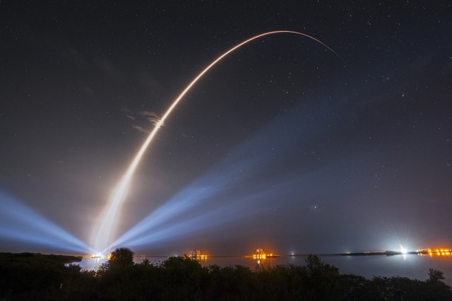 The MUOS-3 satellite was launched Jan. 20, 2015 from Cape Canaveral Air Force Station, Fla.