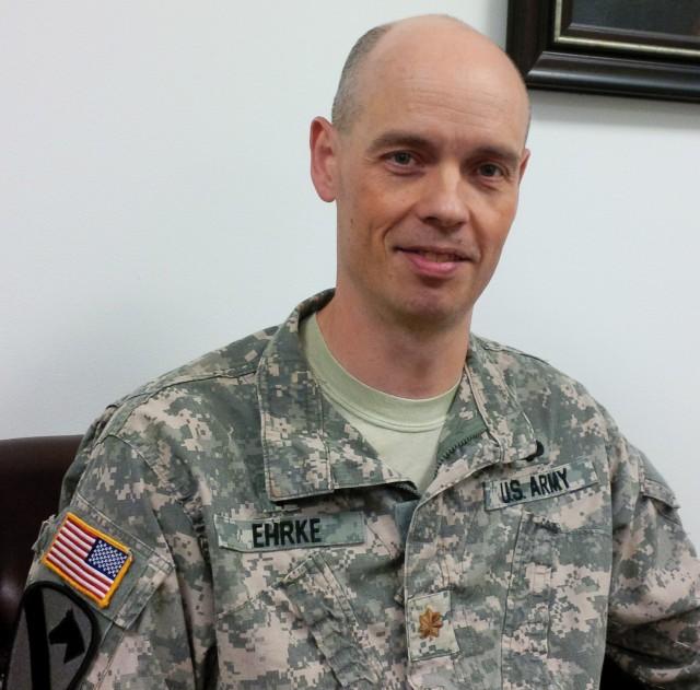 Chaplain (Major) Donald Ehrke