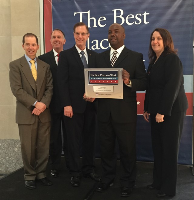 The 2014 Best Places to Work in the Federal Government Award Presentation.