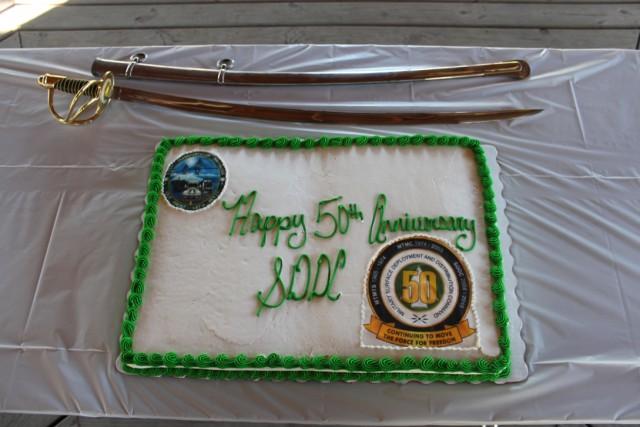 SDDC 50th Anniversary Cake