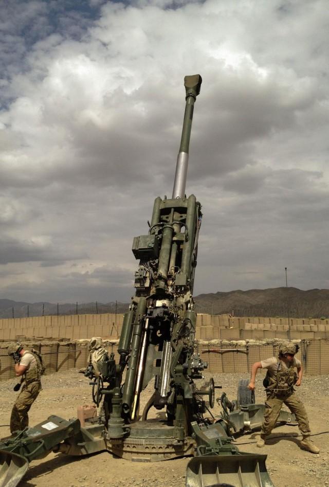 2-15 Field Artillery receives Knox Award