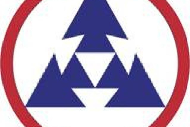 Arrows and arrowheads are symbols frequently used in US Army insignia designs since they refer to items historically used in warfare and defense. The three arrowheads symbolize the designation of the 3D Sustainment Command (Expeditionary). The patch is worn as shown here, with one arrowhead pointing up. The top of the patch should be 1/2 inch from the top of the shoulder seam.