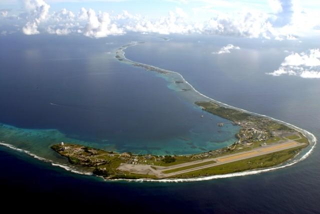 Dempsey visits strategic, remote Kwajalein Atoll