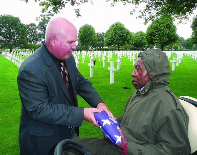 Former World War II quartermaster recalls service in book, documentary