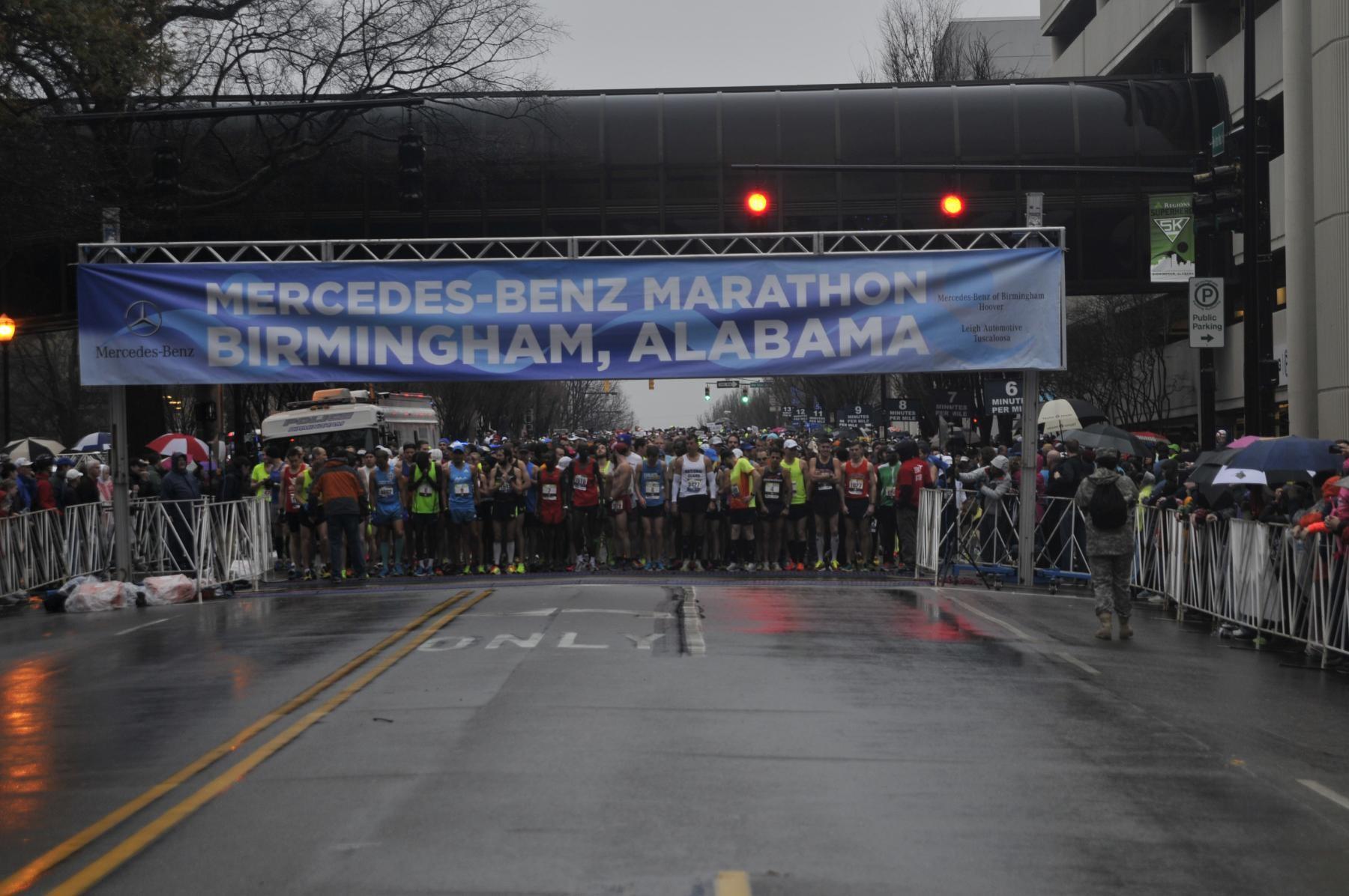 Birmingham based army reserve soldiers run and run and run for Mercedes benz marathon birmingham