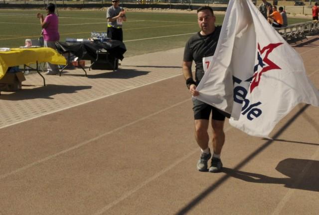 Army Marathon shadowed in Kuwait