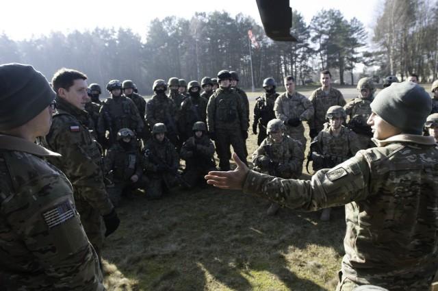 U.S., Polish forces hone interoperability skills