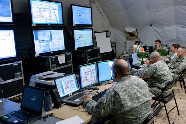Data products assign every system in a command post a unique identifier, role and Internet Protocol address, taking into account a unit's specific mission, personnel footprint and mix of networked mission command systems. This contact information enables the various systems to connect and share information.
