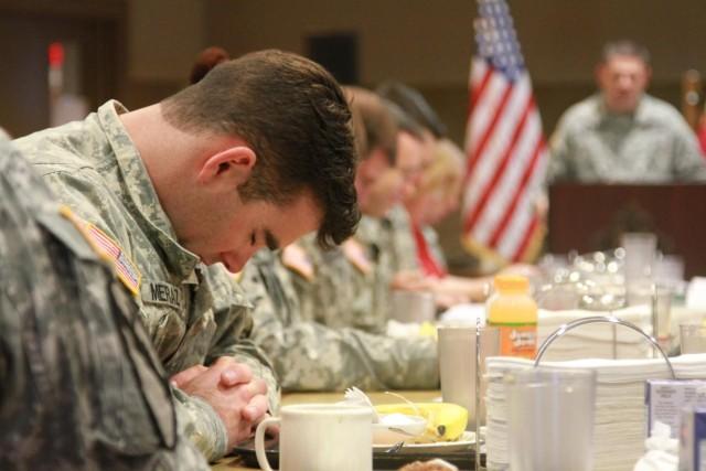 79th Ordnance Battalion hosts prayer breakfast