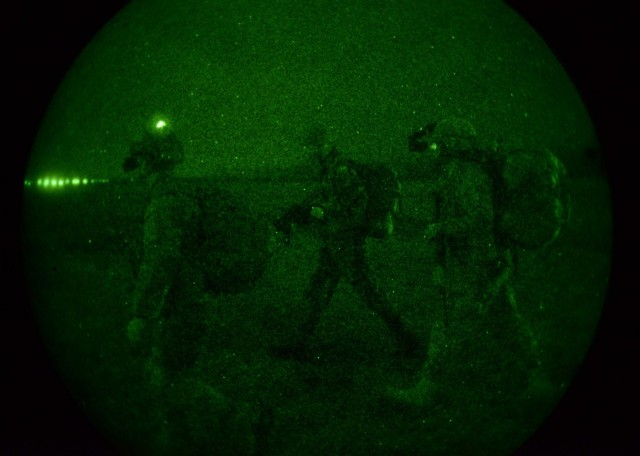 US, Hungarian paratroopers build interoperability with combined airfield seizure, live fire