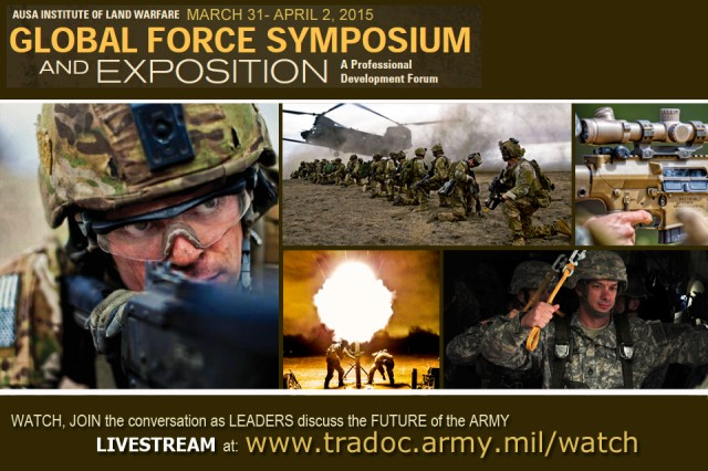 Watch, join the conversation as senior leaders discuss the future of the Army