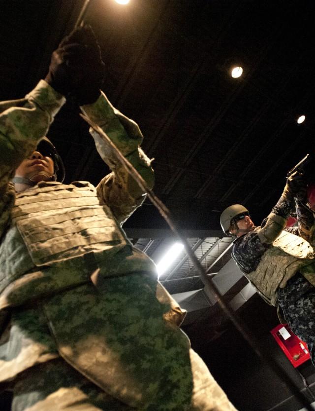 OCS Joint Exercise 2015 begins on Fort Bliss