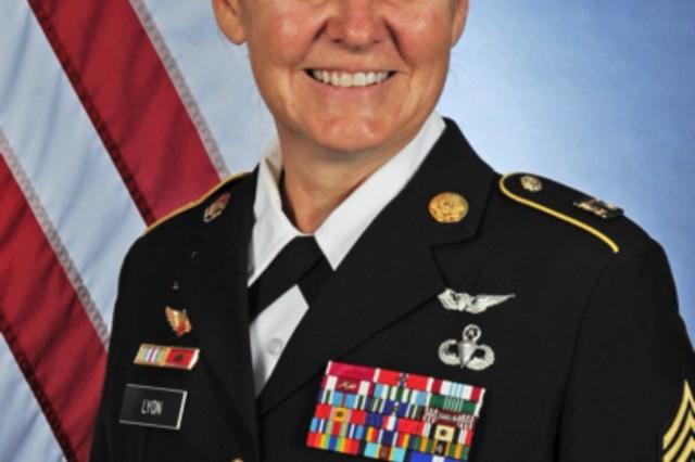 Sgt. Maj. Sheryl D. Lyon has been announced as U.S. Army Europe's new senior enlisted advisor.