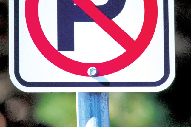 If you see this sign aboard U.S. Army Garrison-Hawaii installations, the Directorate of Emergency Services is reminding you to abide or you may be ticketed or towed.