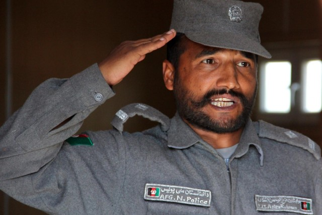 U.S. advisers see progress in Afghan police training