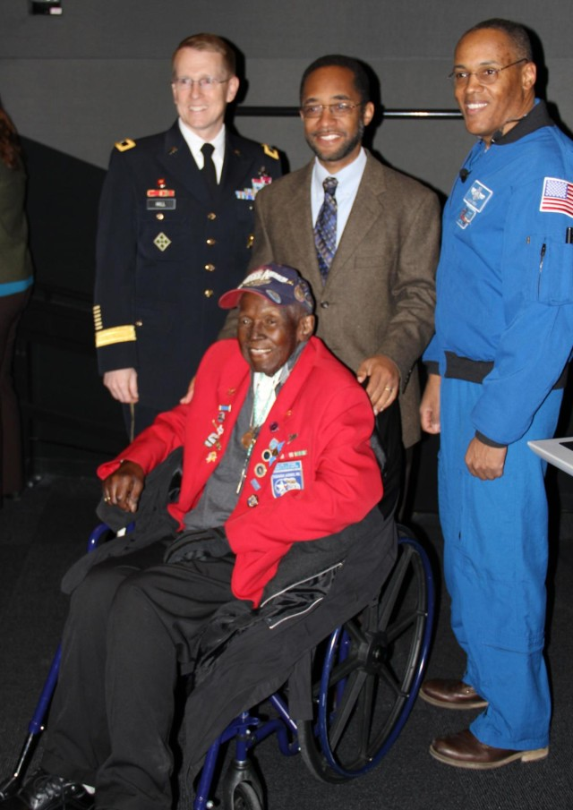 NASA astronaut, Tuskegee Airman inspire students and Federal employees at STEM and Black History Month events