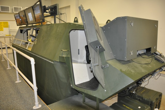 When the U.S. Army Chemical, Biological, Radiological and Nuclear School's Fox wheeled-armored vehicle course was eliminated nearly two years ago, left behind was a $250,000 virtual crew training simulator. An idea to retrofit the idle and outdated unit into a Stryker visual crew trainer has saved the U.S. Army an estimated $400,000.