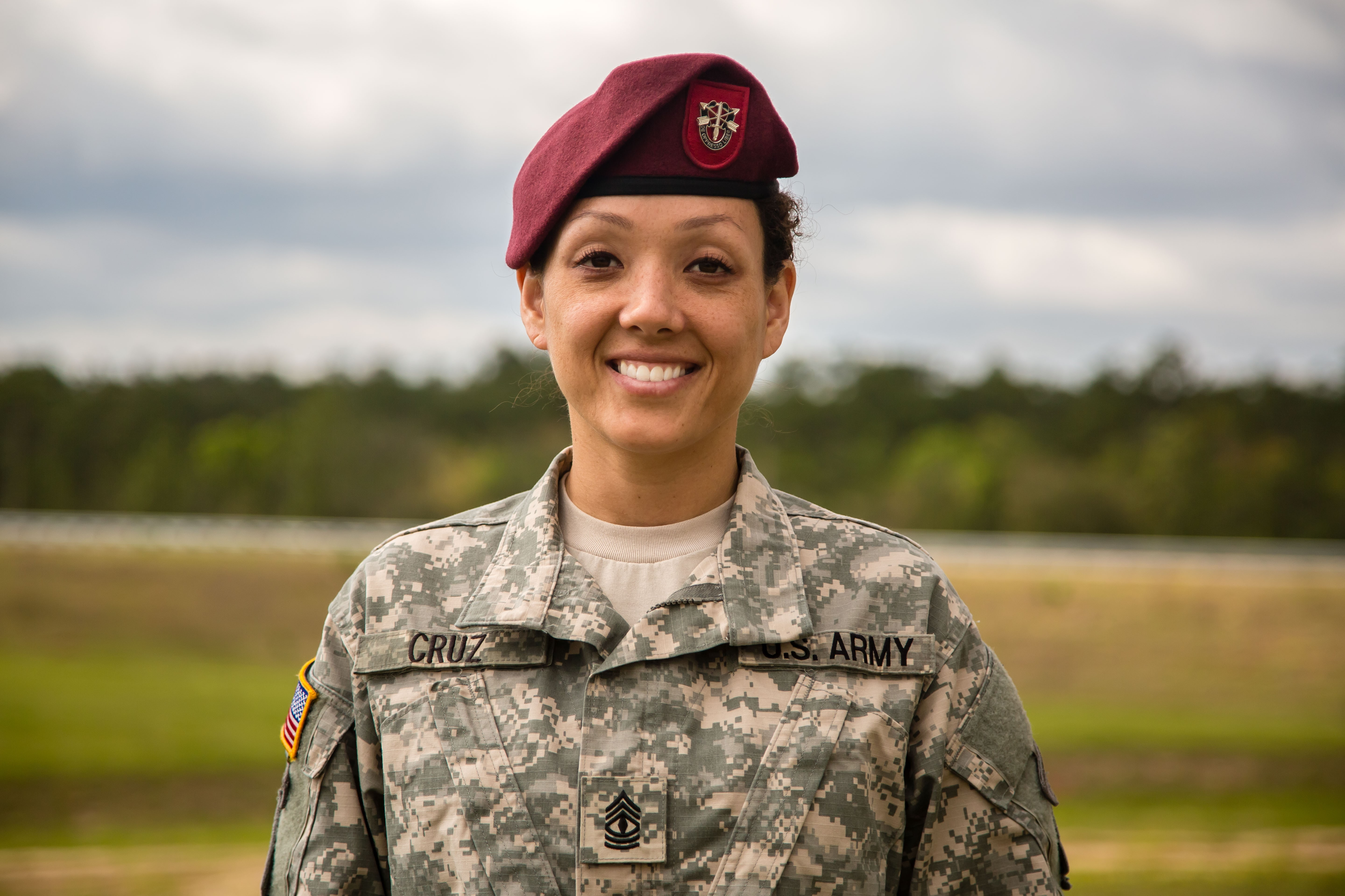 First Sergeant Inspired By Green Beret Father To Lead