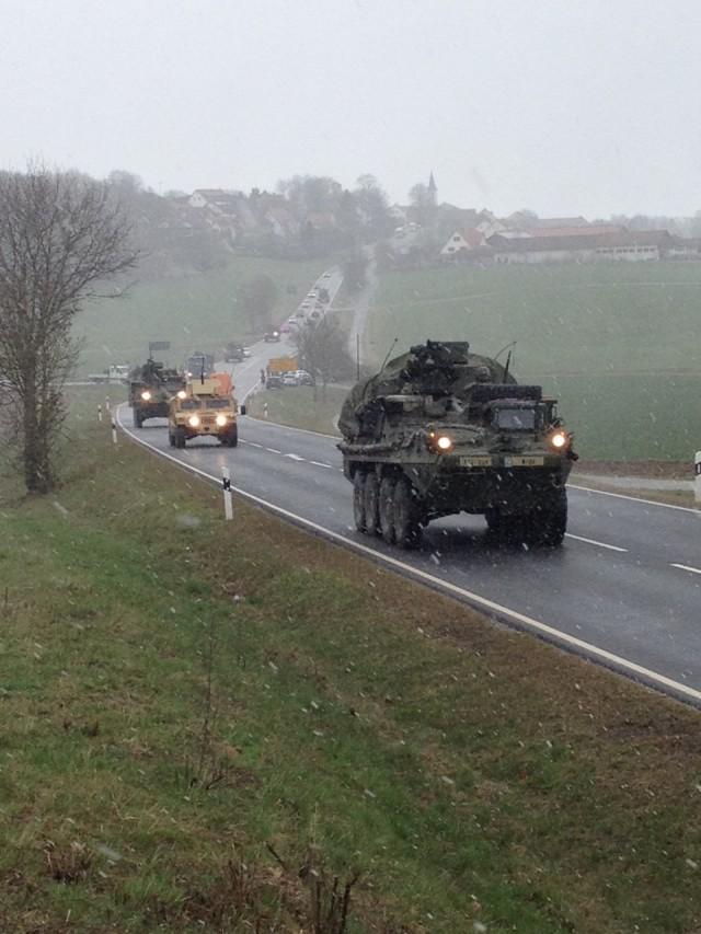 Dragoon Ride: 2d Cav. Regt. returns home to Germany