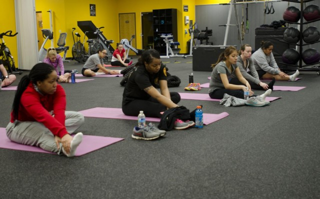 Soldiers stay active in the PPPT program