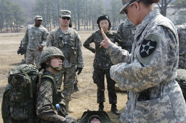 1ABCT Soldiers train KMA cadets for the Sandhurst Military Skills ...