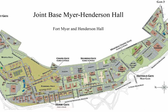 Fort Myer Va >> Jbm Hh Gates Access Fort Myer Henderson Hall Virginia And Fort