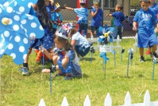 Proclamation and pinwheels pledge child abuse awareness