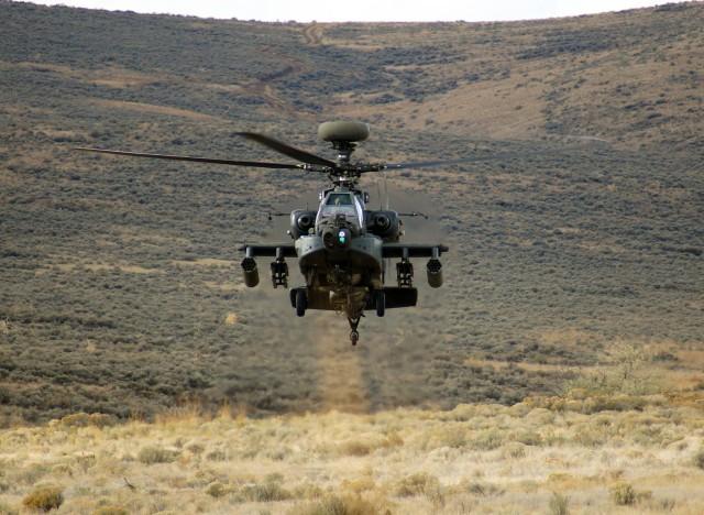 Army accepts 100th Apache 'Echo' model