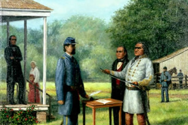 Stand Watie was the only American Indian to attain the rank of general officer during the Civil War, and was the last Confederate general to surrender.