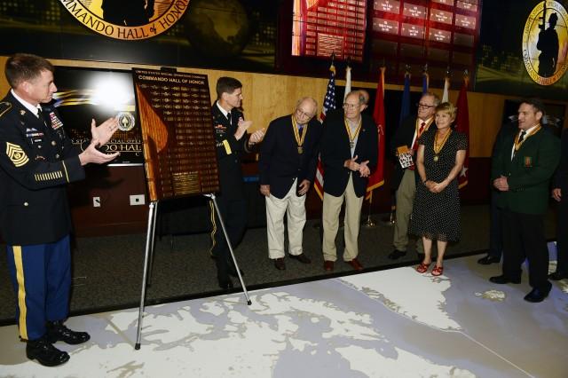 USSOCOM Commando Hall of Honor induction ceremony