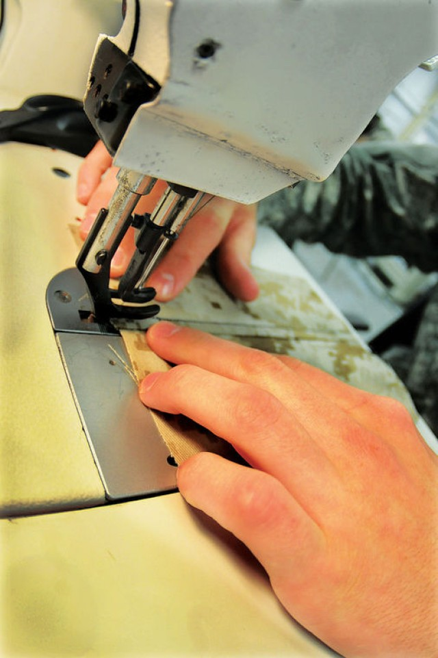 Clothing repair taught for final time at Quartermaster School