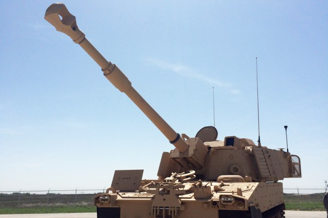 The Army accepted the first low-rate initial production M109A7 Self-Propelled Howitzer, April 9, 2015.