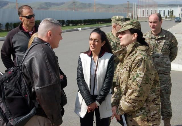 U.S., Georgian military swap Wounded Warrior care info