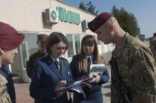 173rd Airborne Brigade arrives in Ukraine for Fearless Guardian